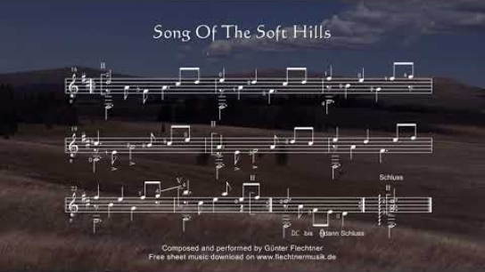 Songs Of The Soft Hills - Sheet Music