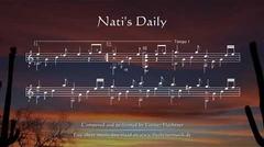 Nati's Daily - Sheet Music