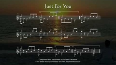 Just For You - Sheet Music